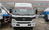 Foton Aumark 7 carros sépticos del vacío de la alcantarilla del carro de las aguas residuales de la succión de Cbm