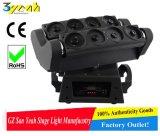 8X10W RGBW LED 거미 광속 이동하는 맨 위 광속 단계 빛