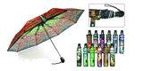 Зонтики Open&Close створки печати 3 бабочки (YS-3FD22083563R)