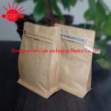 Tous les types de sac à café avec valve et Tin-Tae avec Ziplock / Standup / Aluminium Foil / Flat Bottom / Kraft Paper