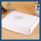 ورق مقوّى مستحضر تجميل صندوق سهل أبيض