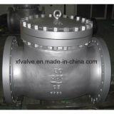 Задерживающий клапан конца фланца литой стали размера ANSI стандартный большой