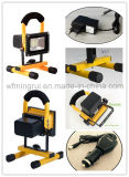 세륨 SAA를 가진 10W-50W SMD/COB LED Rechargeable & Portable& Waterproof Flood Light/LED Working Light/LED Emergency Light