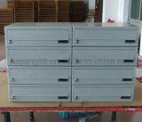 Горизонтальный почтовый ящик металла для общины