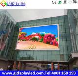 El panel a todo color P10 del texto de LED P10 del módulo al aire libre de la visualización