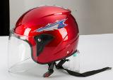 新しい到着の安く開いた表面モーターバイクまたはスクーターまたはオートバイのヘルメット(OP240)