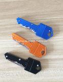 Couteau de clé d'acier inoxydable pliant le mini couteau Pocket