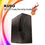 """A maneira de Kudo 3 Dual 12 a """" linha sistema da disposição para o desempenho ao ar livre grande"""
