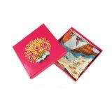 Подгонянная коробка карточки бумаги складывая для шарфа, состава, подарка, пояса