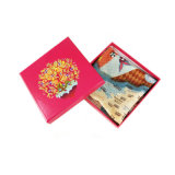 Scarf, Makeup, Gift, Belt를 위한 주문을 받아서 만들어진 Paper Folding Card Box