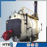 Caldeira de vapor automática cheia do petróleo de gás da série de Wns com Burning completo