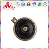 115dB Black Disk Electric Horn per Motor Parte