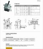 La parrilla segura del horno del refrigerador de aire viaja en automóvili el motor síncrono de la CA 110V-240V