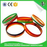 Bracelets en caoutchouc de postes chauds de vente pour l'usager de musique
