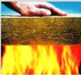 Ранг доказательства пожара панель сандвича шерстей утеса для сбывания