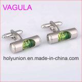 Uomini di lusso Cufflings di collegamenti di polsino della clessidra dei gemelli di alta qualità VAGULA