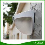Solar ao ar livre da lâmpada de parede da auto luz solar da cerca do diodo emissor de luz do interruptor psto