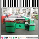 Tableau de compteur de caissier de qualité d'acier inoxydable pour le centre commercial