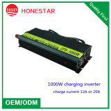 2016純粋なSine Wave Inverter Solar Charge Controller Inverter 1000W Battery Charger Inverter