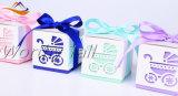 Tarjeta de la invitación del emparejamiento del rectángulo de regalo del rectángulo del caramelo de Boxwedding