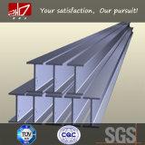 Fascio standard della struttura d'acciaio H del grado A36 W6X8.5 di ASTM
