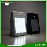 Indicatore luminoso solare esterno della rete fissa di paesaggio della tettoia LED di via della lampada 24LED del sensore della parete automatica del giardino