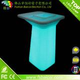 Tableau de cocktail de barre de la lumière DEL de couleur de lueur de qualité