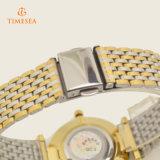 贅沢で完全なステンレス鋼のダイヤルの水晶腕時計72234