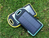2 en 1 batería universal de la energía solar del cargador solar impermeable