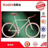 Il colore bianco della bici fissa dell'attrezzo/ha mescolato la bicicletta dell'attrezzo fissa colore