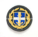 Military&PoliceのためのカスタムEmbroidery Patch Shoulder Badges