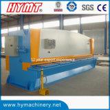 Máquina de corte da máquina de corte da guilhotina hidráulica do controle de QC11y-6X6000 Nc & da placa de aço