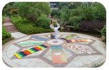 Stuoia di yoga stampata sublimazione ecologica