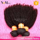 卸し売り毛20束のアフリカのねじれた巻き毛のブラジルの人間の毛髪の束