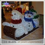 魔法のギフトLEDのクリスマスのスノーマンの装飾ライト