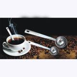 コーヒースコップ、ステンレス鋼1本の表のスプーンのコーヒー測定スプーン