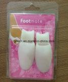 Separador do dedo do pé do pé do gel do silicone do esticador do separador do dedo do pé