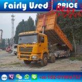 De in het groot 8X4 F3000 Gebruikte Vrachtwagen van de Stortplaats Shacman van Kipper Shacman