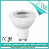 Proyector de GU10 6W LED con la casa blanca