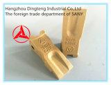 Catálogo do dente da cubeta da máquina escavadora de Sany para a máquina escavadora de Sany
