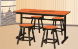 Cheap simples Dining Table e Chair para Restaurant