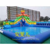 Associação, tipo inflável jogos infláveis do parque da água do parque da água