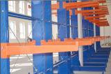 Rack de cantilever ajustável para madeira