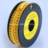 Vestito del a~Z degli indicatori 0~9 del cavo piano del PVC per il Ec-J del cavo rotondo o piano di 7.0mm - di 3.5