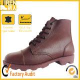 Fabrik-Großverkauf-Qualitäts-echtes Leder-Militärknöchel-Aufladungen