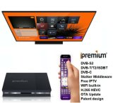 Ipremium Hybride Receiver Full H. 265 Doos DVB s2+t2/c/isdb-t Combo