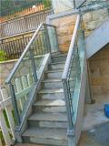 Pêche à la traîne de balcon en verre Tempered de l'acier inoxydable 12mm