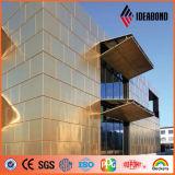Außenumhüllung-Wand-Dekoration-Kupfer-Zusammensetzung-Panel