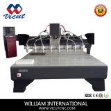 Машина маршрутизатора CNC машины Woodworking Multi-Головки деревянная