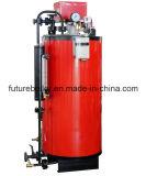 Chaudière à vapeur allumée verticale de pétrole de tuyau d'eau (gaz) pour la machine de retrait